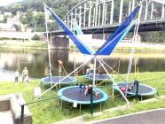 Foto atrakce Bungee trampolína