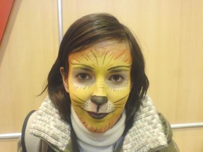 Fotografie atrakce Face painting