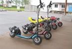 Obrázek atrakce Moto koloběžky