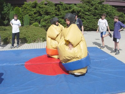 Fotografie atrakce Sumo ring