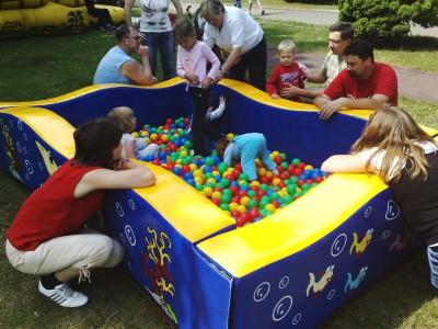 Fotografie atrakce Bazén s kuličkami